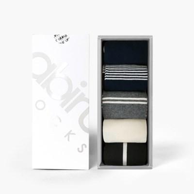 여성용 삭스 5팩 Gift-A-SET (쇼핑백 포함)