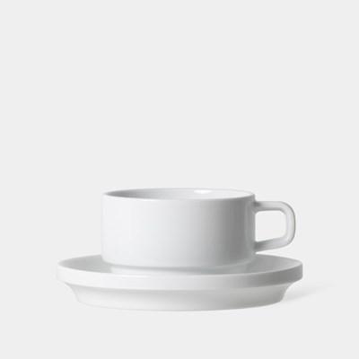 카페라떼 컵 앤 소서, Cafe Latte Cup and Saucer 270ml, 9oz