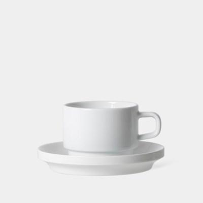 카푸치노 컵 앤 소서, Cappuccino Cup and Saucer 190ml, 6.5oz