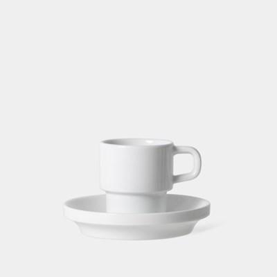 에스프레소 컵 앤 소서, Espresso Cup and Saucer  75ml, 2.5oz