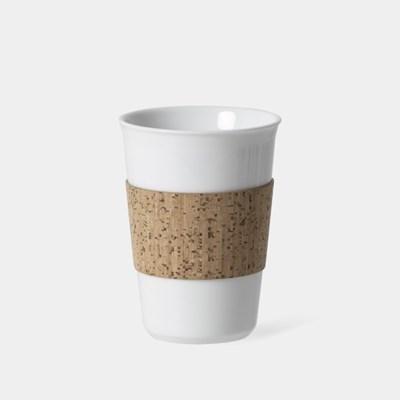 M 코르크 슬리브 컵, Reusable Cup & Cork Sleeve 300ml, 10oz