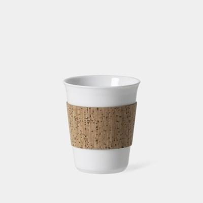 S 코르크 슬리브 컵, Reusable Cup & Cork Sleeve 180ml, 6oz