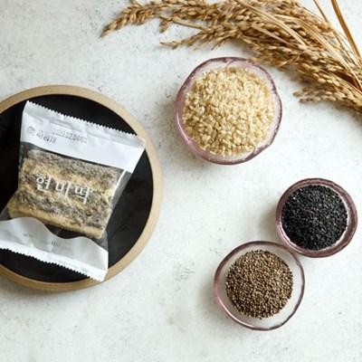 [국내산 유기농 쌀로 만든] 현미깨깨설기 5봉 400g_(1054578)
