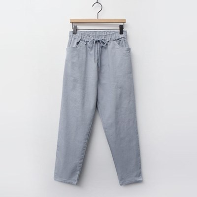 Henry Cotton Banding Pants