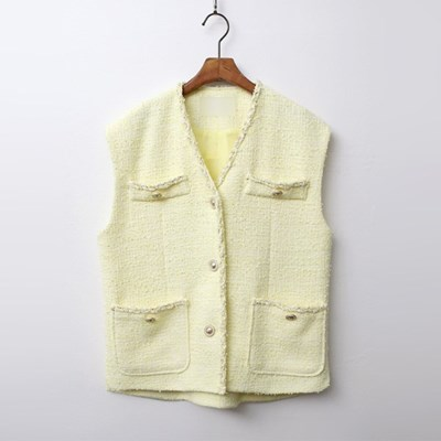Emma Tweed Vest