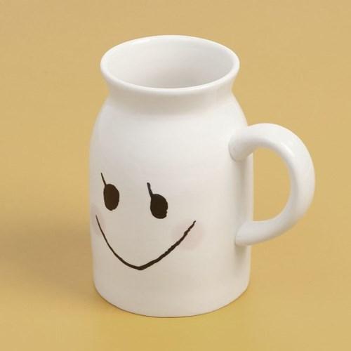 밀크팜 머그컵(280ml) (발그레)