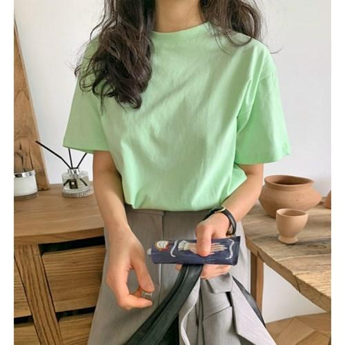 라떼 심플반팔티셔츠 (5color)
