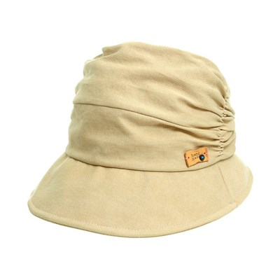 KAU01.셔링 면 여성 벙거지 모자 버킷햇 봄 여름 챙모자