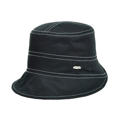 KAU02.스티치 면 여성 벙거지 모자 버킷햇 봄 여름 챙모자