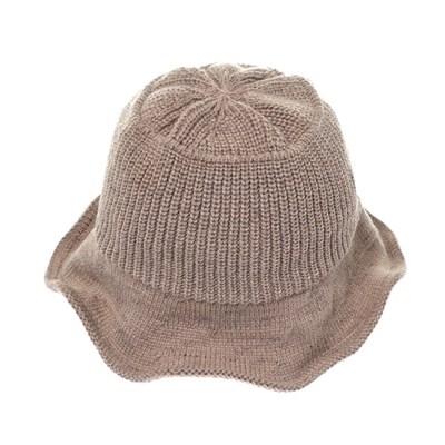 KKU10.골지 니트 여성 벙거지 모자 버킷햇 봄 가을 챙모자