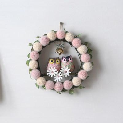 핑퐁 조화 리스도어벨-부엉이(3color)