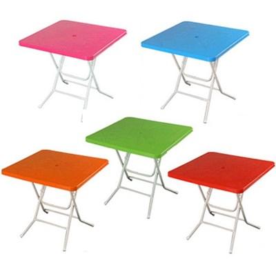 국산 고급2단 대형 우산형 파라솔_사각 테이블 (6색)