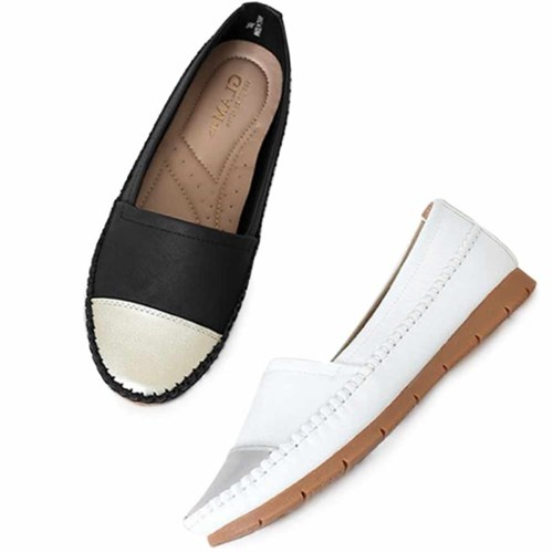 kami et muse Toe combi stitch leather sneakers_KM21s027
