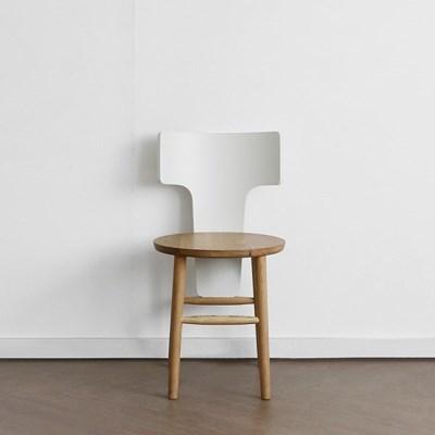 [오크] I형 의자 화이트_(1696280)