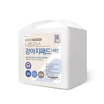 나트리스 강아지 배변 패드 대형 경제형 30매