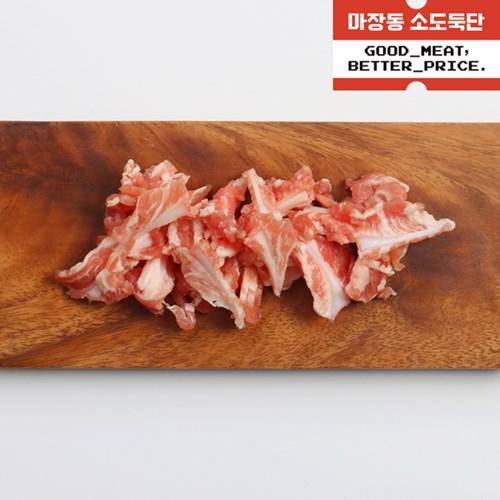 [육그램] 국내산 한돈 오도독 오돌뼈 1kg + [증정] 불소스
