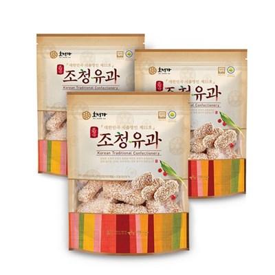 [남도장터] 조청유과 200g x 3
