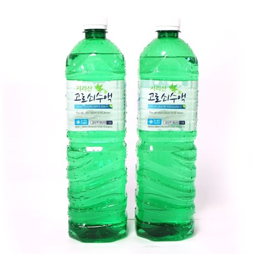 [남도장터]지리산 고로쇠수액 1.5L x 2병