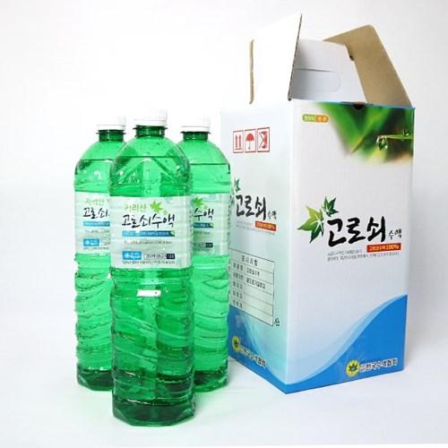 [남도장터]지리산 고로쇠수액 1.5L x 3병