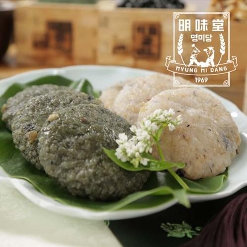 밥알떡 (현미밥알떡10개+쑥밥알떡10개)/선물세트
