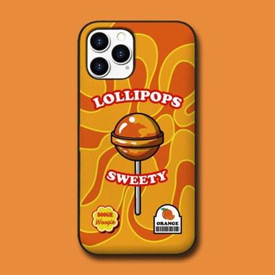 카드범퍼 케이스 - 롤리팝 오렌지(Lolipops Orange)