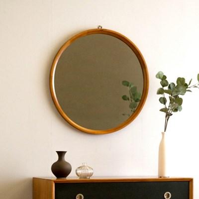 [장미맨숀] 마르틴 원목 원형 거울