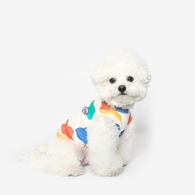 강아지 밀크 민소매 여름옷