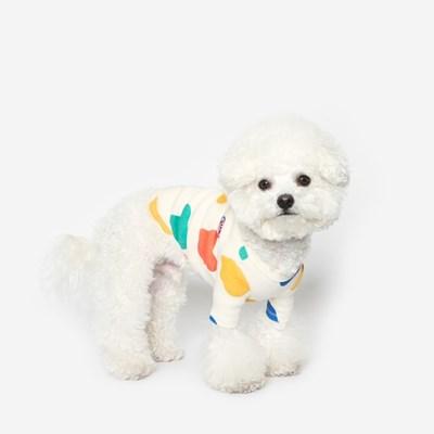 강아지 밀크 티셔츠