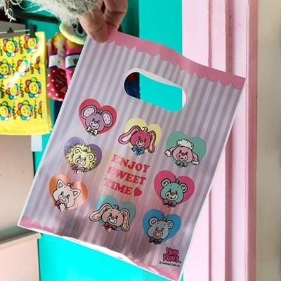 얌얌즈 선물포장 비닐백/미니쇼핑백