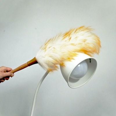 양모 먼지털이 자동차 집안 먼지털이개 장식품 청소도구 (소/중/대)