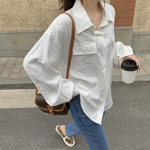 클래시 루즈핏 양포켓 베이직 남방 셔츠(mnb1114)_(1888584)