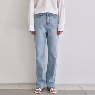 VINTAGE COLOR DENIM PANTS_LIGHT BLUE