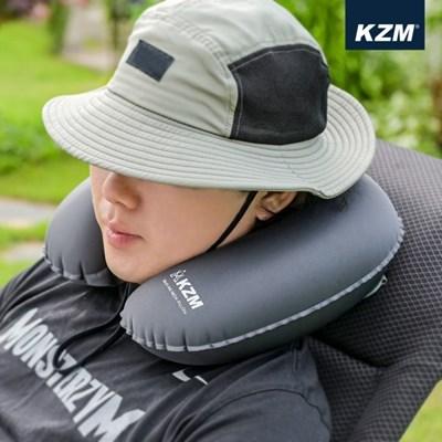 카즈미 스너그 에어 넥필로우 K20T3M006 / 휴대용 에어베개 목베개