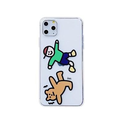 아이폰12미니 개구쟁이 곰돌이 젤리 케이스 P504_(3676373)