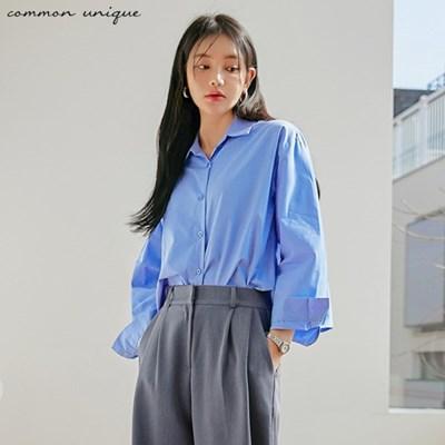 [커먼유니크] 레미즈 백 플리츠 포인트 셔츠_(1999695)