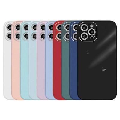 아이폰7플러스 글라스 파스텔 심플 하드 케이스 P584_(3674794)