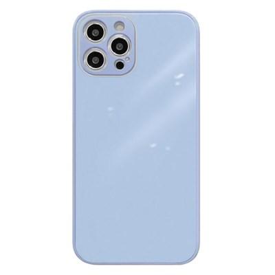 아이폰11프로 글라스 파스텔 심플 하드 케이스 P584_(3674784)