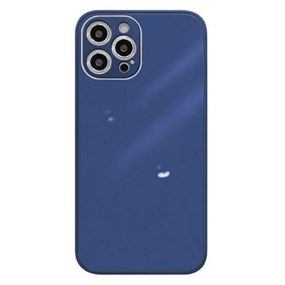 아이폰12프로 글라스 파스텔 심플 하드 케이스 P584_(3674780)