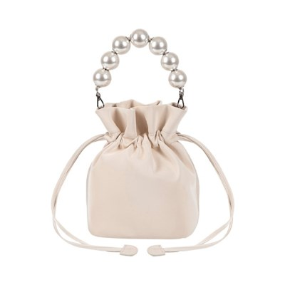 [머메이드 진주 버킷백] Mermaid bucket bag_Shine Ivory