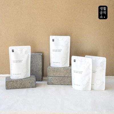 [생활공작소]세탁조 클리너 클린업 400g x 8입_(1186372)