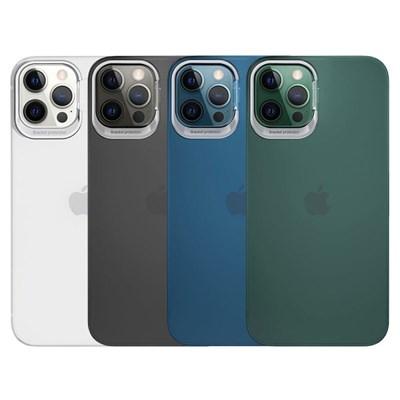 아이폰12프로맥스 컬러 링 매트 하드 케이스 P420_(3678305)