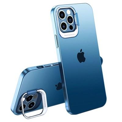 아이폰12미니 컬러 링 매트 커버 하드 케이스 P420_(3678308)