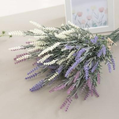 펀라벤다픽번들(5개입) 45cm 조화 꽃 인테리어 장식 FAI