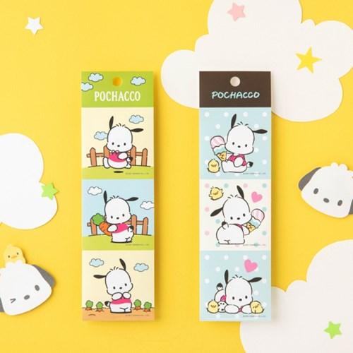 [Sanrio] 포차코 줄줄이 스티커