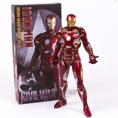 마블 관절액션피규어 Avengers 아이언맨 MK45