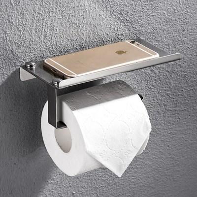 휴지걸이 욕실용품 선반 거치대 실버 BI-5710 메탈_(3321615)