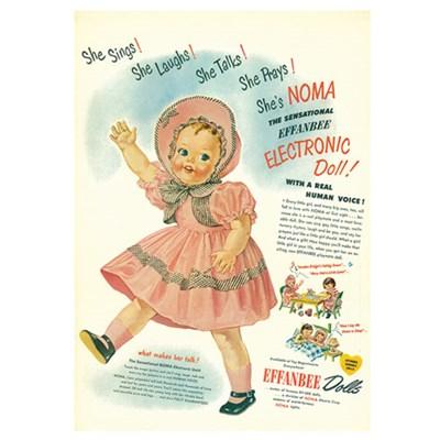 [디저트신드롬] 빈티지 일러스트 포스터 :: doll