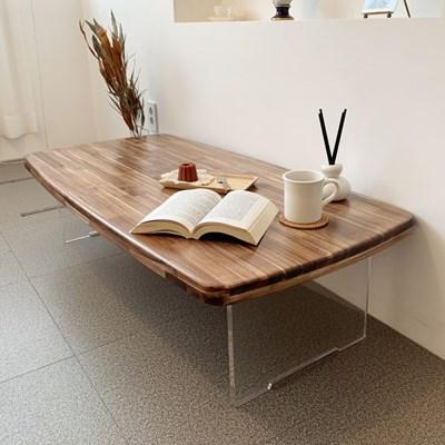 수제공작소 아카시아 원목 거실테이블
