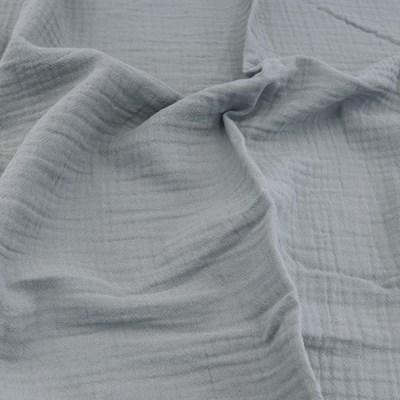 [Fabric] 피그먼트 거즈 2중지 소프트 그레이