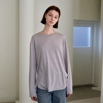 RENEWAL PURE LONG SLEEVE T-SHIRTS_GRAY